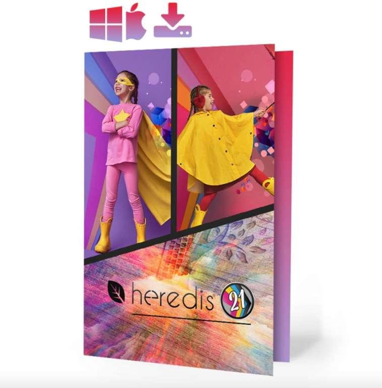 Heredis Genealogie-Software 2021 (Windows / MAC) komplett kostenlos (statt 75€)