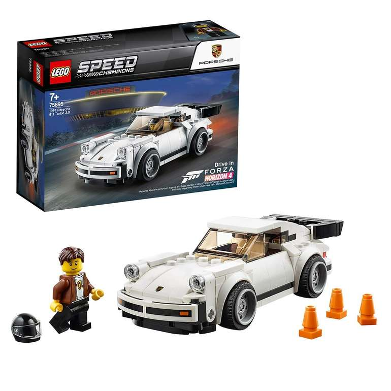 Lego (75895) Speed Champions - 1974 Porsche 911 (Turbo 3.0) für 11,47€ (statt 15€) - Thalia Club!