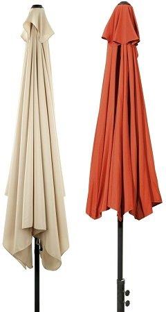 EASYmaxx Sonnenschirm (rechteckig oder halbrund) für 49,99€ inkl. VSK