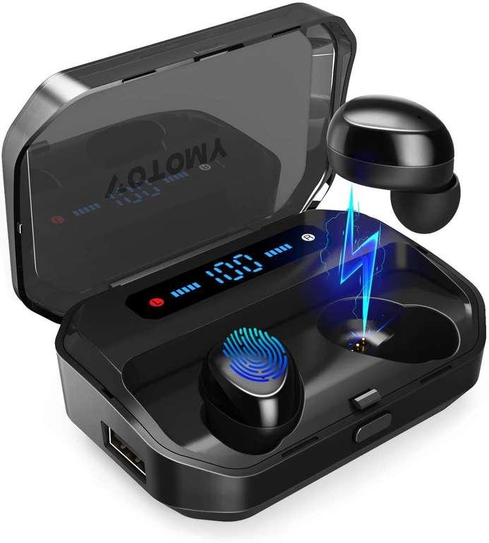Votomy Bluetooth Kopfhörer mit 3.500 mAh Ladecase für 32,19€ inkl. Versand (statt 39€)