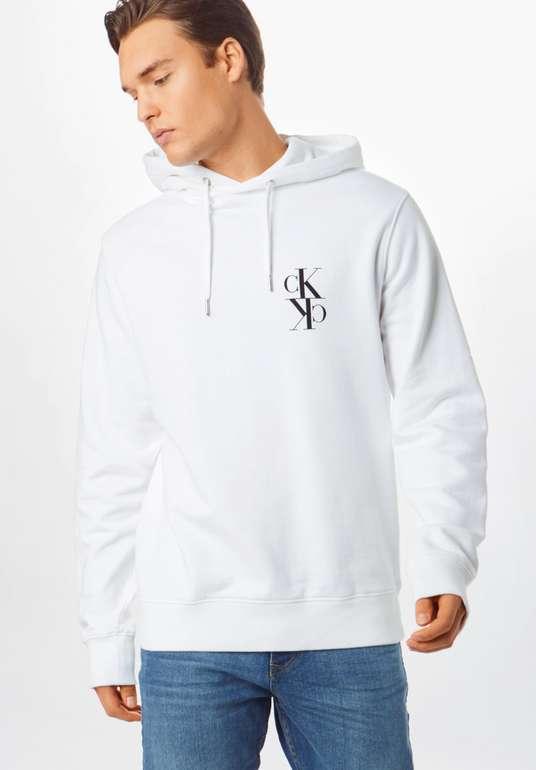 """Calvin Klein Jeans Sweatshirt """"Back Mirrored Hoodie"""" in schwarz / weiß für 34,95€inkl. Versand (statt 52€)"""