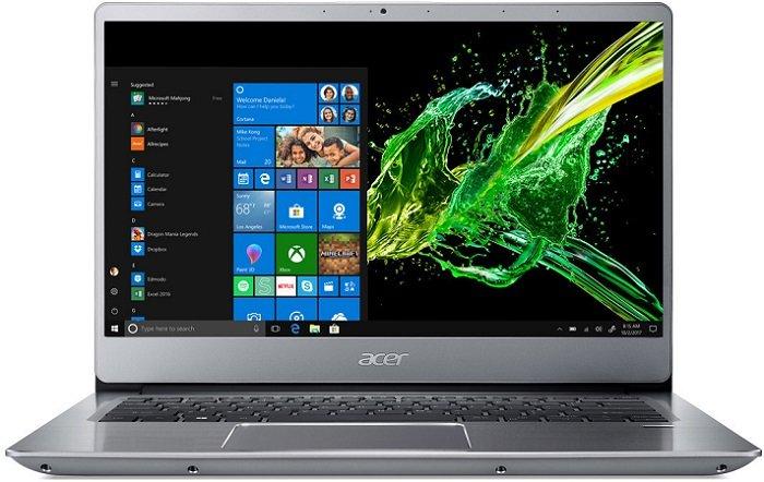 Acer Swift 3 (SF314-56) – 14″ FHD Notebook i5, 8GB/512GB SSD für 705€ + 100€ CB