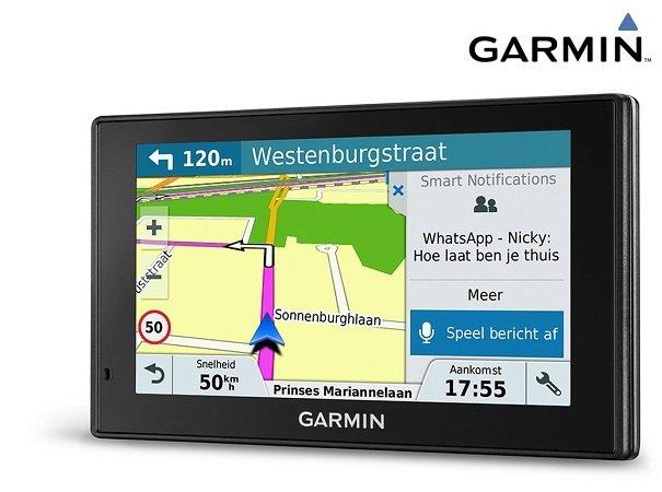 Garmin DriveSmart 60LMT-D GPS-Navigationsgerät für 105,90€ (statt 184€)
