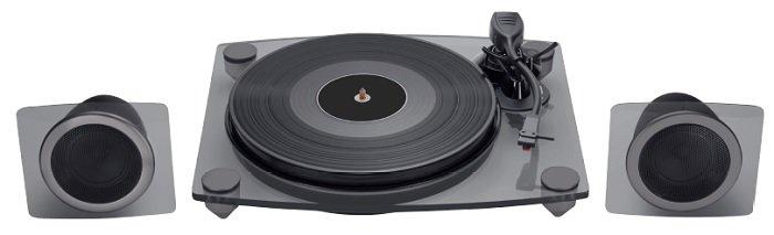 BIGBEN TD115 Plattenspieler (33, 45, 78 U/min) in Schwarz für 71,43€