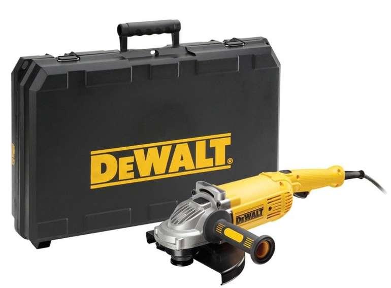 Dewalt DWE492K Winkelschleifer 230mm 2200 Watt in Transportkoffer für 118,94€ (statt 163€)