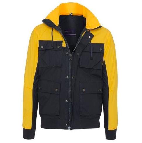 Tommy Hilfiger Sander Block Color Field Jacket für 99,95€ (statt 240€)