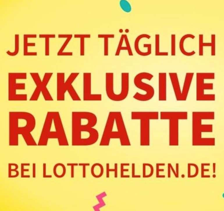 LOTTO System-Chance: 210 Chancen für 1 € bei Lottohelden (statt 5 €) - 2 Mio € im Jackpot!