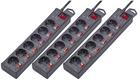 3er-Set Renkforce 6-fach Überspannungsschutz-Steckdosenleiste für 25,98€