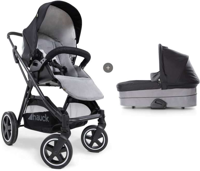 Hauck Kombi-Kinderwagen Mars Duo Set Caviar/Stone für 299,99€ inkl. Versand (statt 430€)