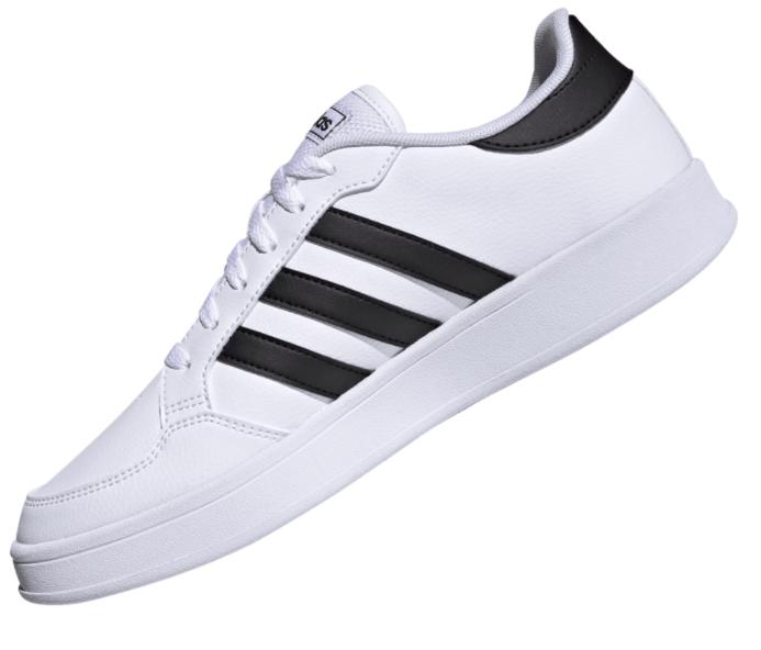 adidas Freizeitschuh Breaknet in weiß/schwarz für 37,95€ inkl. Versand (statt 55€)
