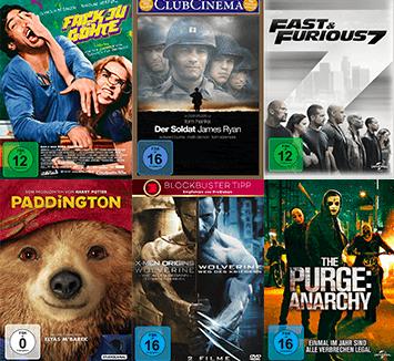 Film-Schnäppchen: 3 DVD's für nur 12€ inkl. Versand bei Saturn!