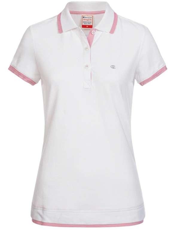 Champion Damen Polo-Shirt (versch. Farben) für je 11,94€ inkl. Versand (statt 31€)