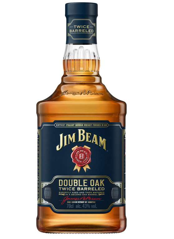 Jim Beam Double Oak mit 43% (0,7l) für 15,94€ inkl. Versand (statt 24€) - VSK-frei ab 49€