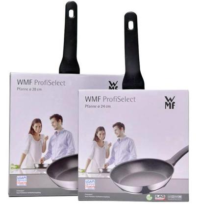2-tlg. WMF Pfannen-Set ProfiSelect (24cm & 28cm) für 49,95€ (statt 58€)
