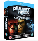 Planet der Affen - Evolution Collection (Blu-ray) für 9,99€ (Vergleich: 15€)