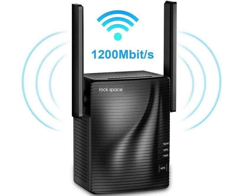 rockspace WLAN Verstärker (2,4 GHz & 5 GHz) für 34,99€ (statt 50€)