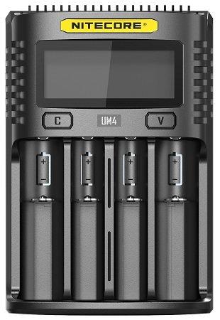 NiteCore UM4 intelligentes USB-Ladegerät für 19€ inkl. Versand