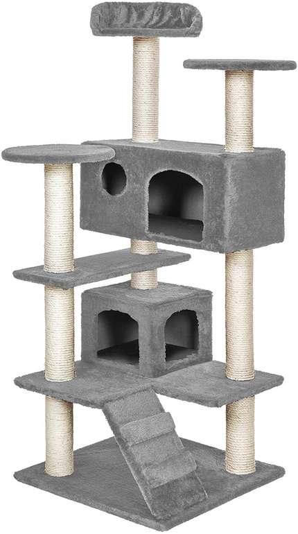 """TecTake Katzen Kratzbaum """"Micki"""" (131 cm) für 39,70€ inkl. Versand (statt 57€)"""