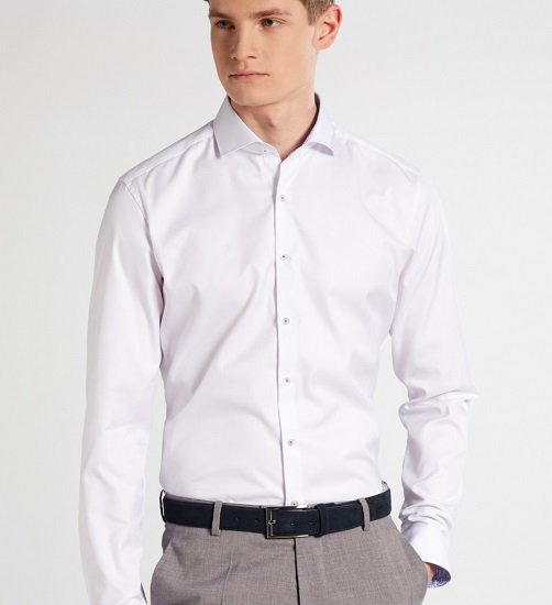 3 Eterna Slim Fit-, Super Slim- & Modern Fit Hemden für 99,95€ inkl. Versand