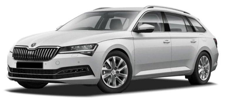 Vehiculum: Starke Skoda Superb Combi Gewerbe-Leasing Angebote, z.B. Ambition ab 135€ mtl. Netto