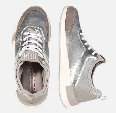Tom Tailor Damen Sneaker für 17,91€ inkl. VSK (statt ~33€)