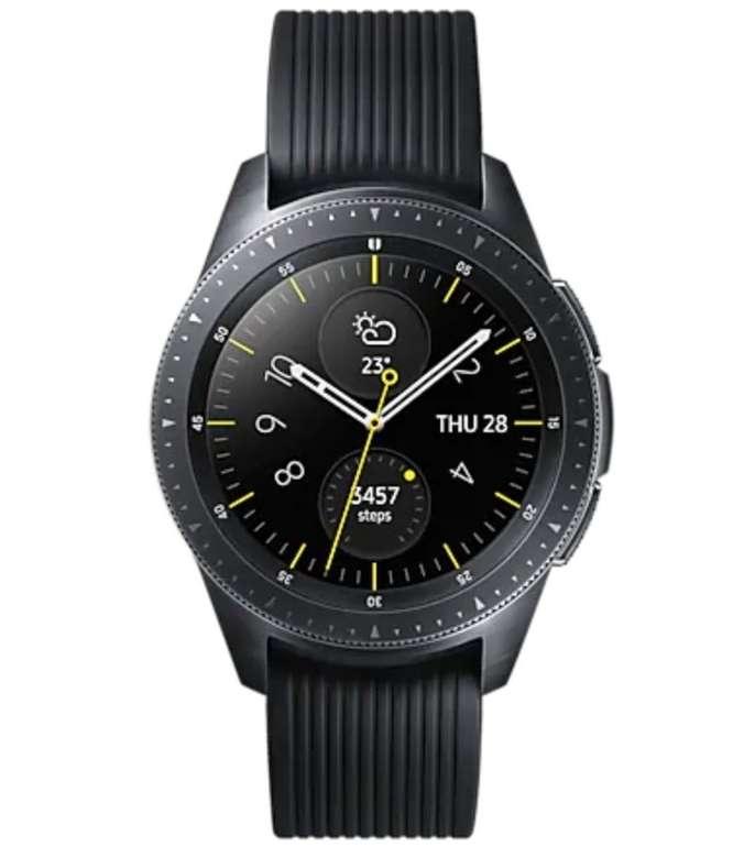 """Samsung Galaxy Watch R810 42mm (1.2"""" AMOLED, 768MB/4GB, NFC, Tizen) für 149€ oder R800 46mm für 159€"""