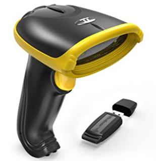 TaoTronics TT-BS031 2-in-1 2.4GHz kabelloser USB Barcode Scanner für 21,99€