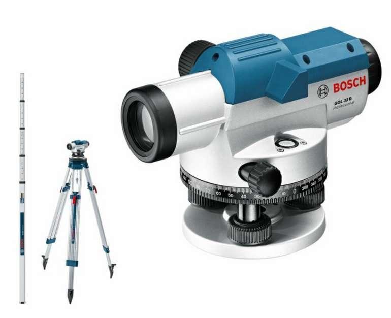 Bosch Optisches Nivelliergerät GOL 32 D für 205,22€inkl. Versand (statt 245€)