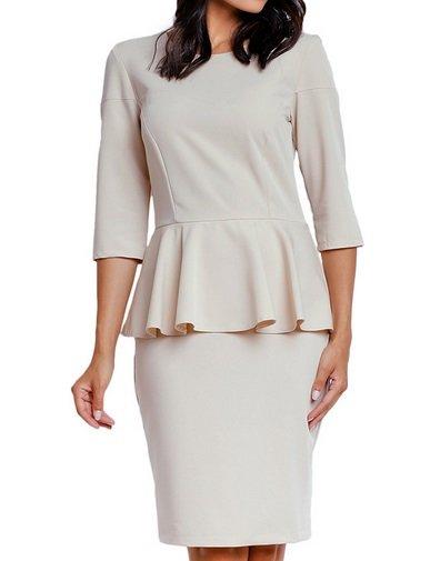 267 Kleider, Blusen, Jacken etc. von NAOKO - 70%, z.B. Cremeweißes Kleid 32,99€