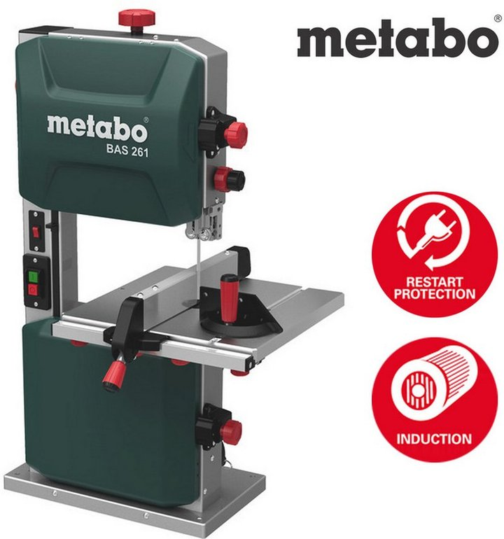 Metabo BAS 261 Precision Bandsäge für 219,90€ inkl. Versand (statt 280€)