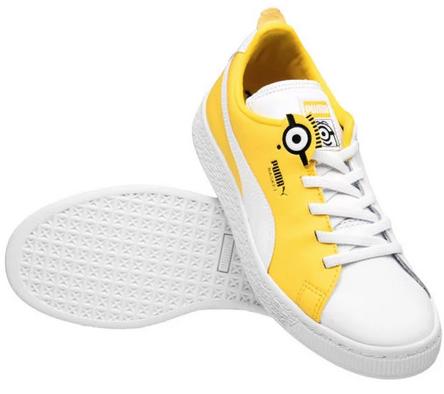 Puma x Minions Basket Kinder Schuhe für 22,94€ inkl. Versand (statt 32€)
