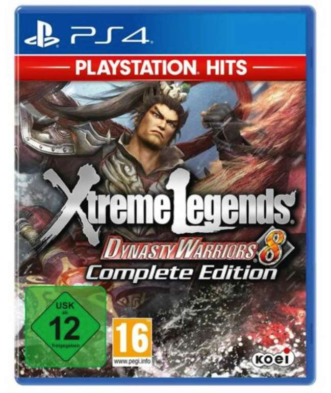Dynasty Warriors 8 - Xtreme Legends Complete Edition (PS4) für 14,98€ inkl. Versand (statt 22€)