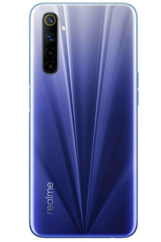 """Realme 6 - 6,5"""" Full HD Smartphone (8GB RAM, 128GB Speicher, HelioG90, NFC, Triple-Slot) für 181,61€"""