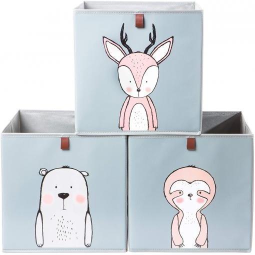 2friends - 3 Aufbewahrungsboxen mit Schlaufe (33x33x33 cm) für 15,99€ inkl. Versand (statt 20€)