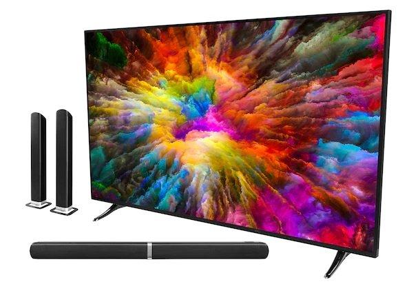 """Medion Llife X16506 - 65"""" UHD 4K Smart-TV inkl. E64058 Soundbar für 549,95€ (statt 680€)"""