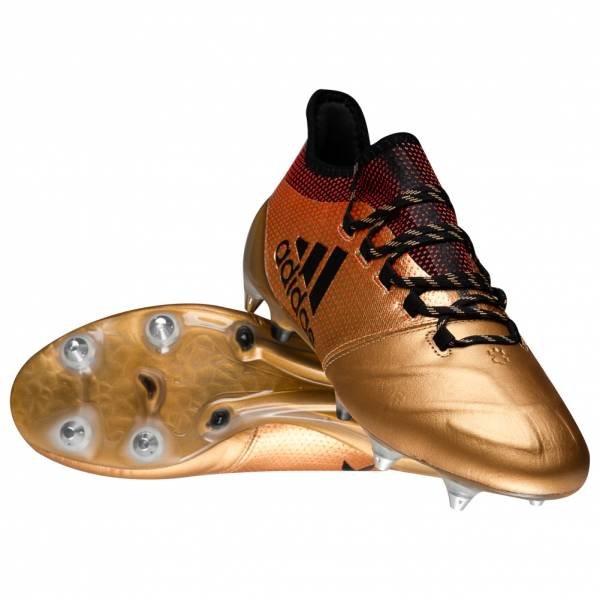 adidas X 17.1 SG Leder Herren Profi Fußballschuhe für 55,55€ inkl. Versand (statt 75€)