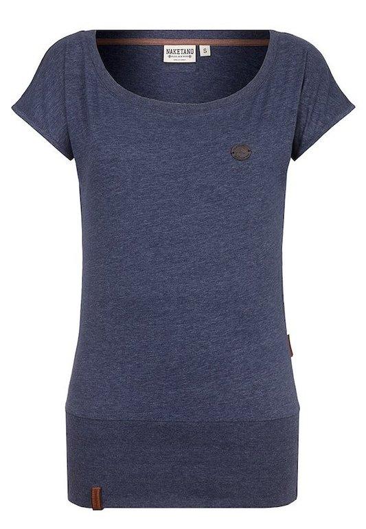 Naketano T-Shirt 'Wolle' in dunkelblau in S & M für 15,22€ inkl. VSK