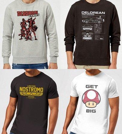 Bundle: Pullover + T-Shirt (Marvel, Zelda, etc.) für nur 29,48€ (statt ca. 48€)