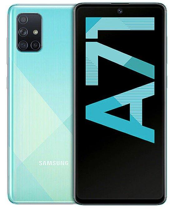 """Samsung Galaxy A71 - 6,7"""" Android 10 Dual-SIM Smartphone (128GB Speicher, 6GB RAM) für 307,28€ (statt 366€)"""