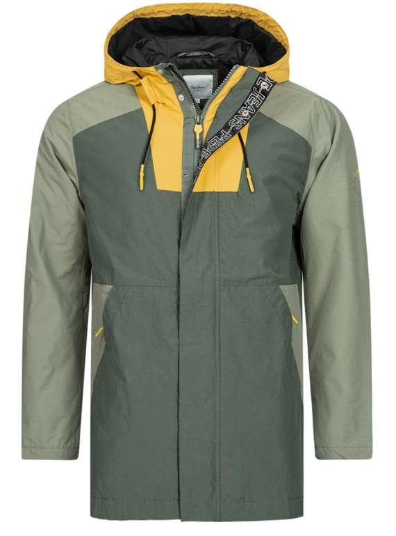 Pepe Jeans Hayama Herren Jacke (PM402055-674) in grün für 35,94€ inkl. Versand (statt 100€)