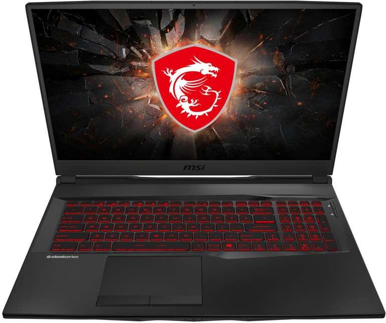 """MSI GL75 9SE-228 - 17,3"""" Gaming Notebook (i7, 16 GB RAM, 256 GB SSD, 1 TB HDD, RTX 2060) für 1.399€"""