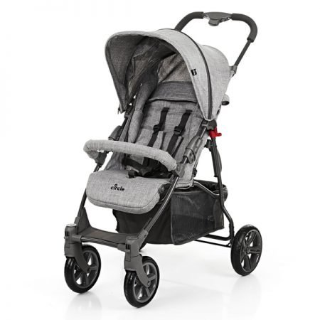 Circle by ABC Design Buggy Treviso 4 in Woven Grey für 70€ (statt 88€)