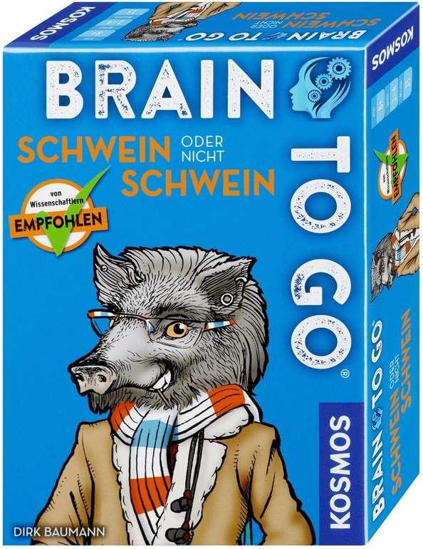 """Kosmos Gedächtnisspiel """"Brain to go - Schwein oder nicht Schwein"""" für 7,25€ inkl. Versand (statt 9€)"""