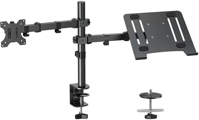 Elived Monitor Halterung mit Laptop Arm für 23,99€ inkl. Versand (statt 40€)