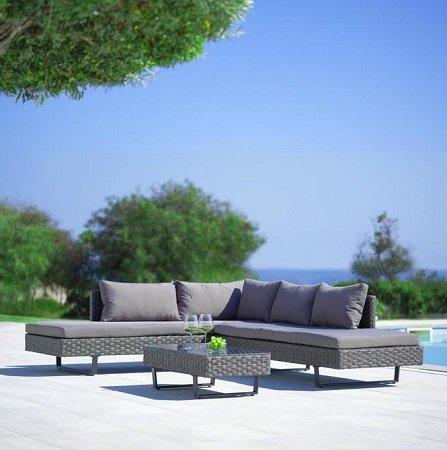 Mömax: Gartengarnitur Martha inkl. Tisch für nur 259,35€ inkl. Versand