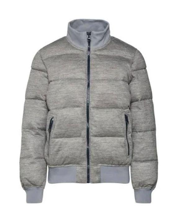 GAP Winterjacke 'PUFFER BOMBER JKT' in graumeliert für 25,41€ inkl. Versand (statt 45€)
