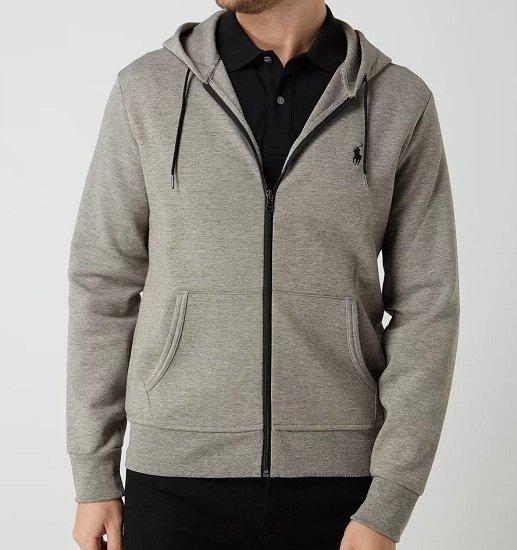 Polo Ralph Lauren Sweatjacke aus Baumwolle mit Logo-Stickerei je 89,99€ (statt 126€)