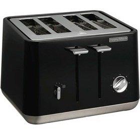 Morphy Richards 240002 Aspect Toaster (4 Schlitze) in schwarz für 39€