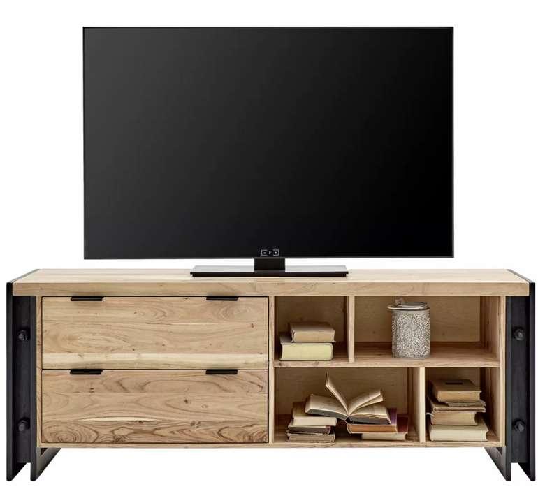 Zandiara TV-Element in Naturfarben Massiv für 358,30€inkl. Versand (statt 478€)