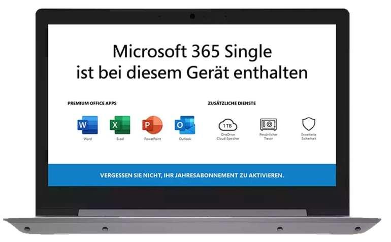 "Lenovo IdeaPad 1 – 11,6"" Notebook mit 64GB eMMC + Office 365 Single für 232,32€ (statt 257€) - Newsletter!"